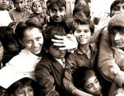 View the image: School excursion, Bhuj, India, 1996