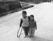 View the image: Brothers, Sikkim, 1997