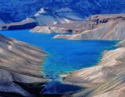 View the image: Band-e Amir Lakes, Afghanistan, 2004
