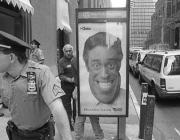 View the image: On duty, Manhattan, 1992