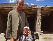 View the image: Goatherder, Afghanistan, 2004