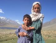 View the image: Brother and sister, Shandur, Pakistan, 2004